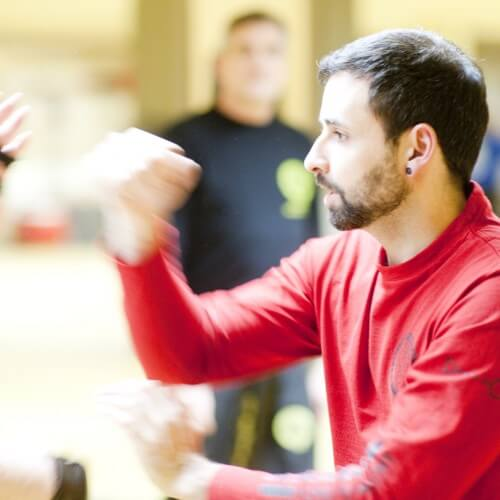 Sifu Malek beim Training Blackbelt Academy Osnabrück