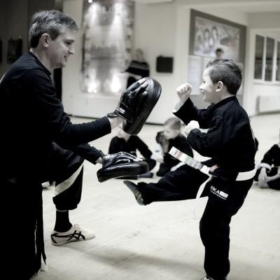 Kindertraining mit Sifu Wolfgang Blackbelt Academy Osnabrück